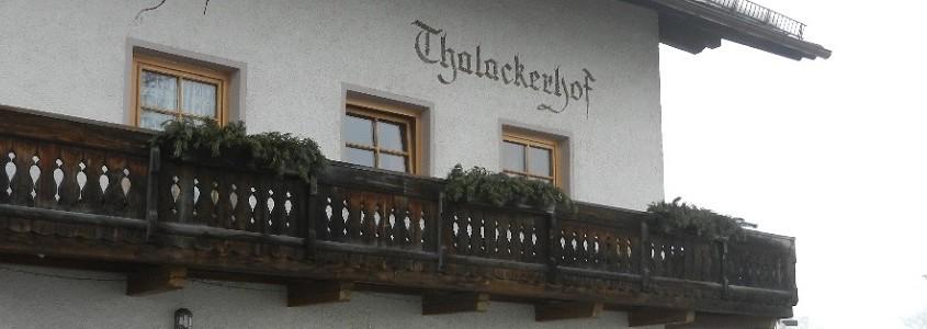 Pustertal Thalackerhof